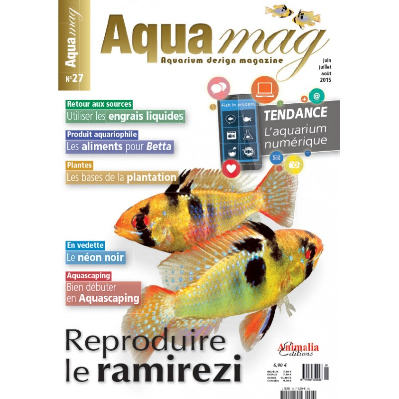 Reproduction M. Ramirezi Aquamag-n27