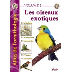 Atlas de l'ornithologie Vol. 2 - les oiseaux exotiques