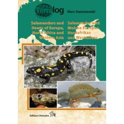 Terralog Salamanders and Newts of Europe, north Africa and western Asia