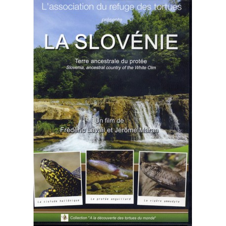 DVD La Slovénie - Terre ancestrale du protée