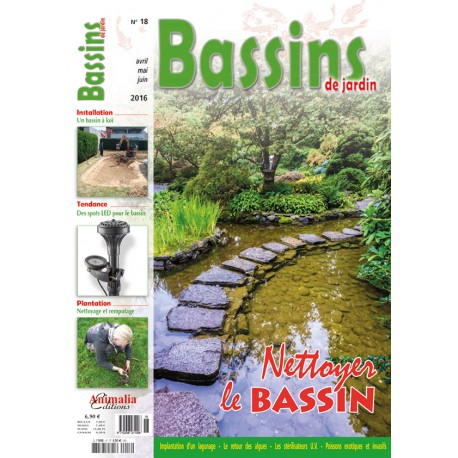 Bassins de jardin N°18 - Animalia Editions