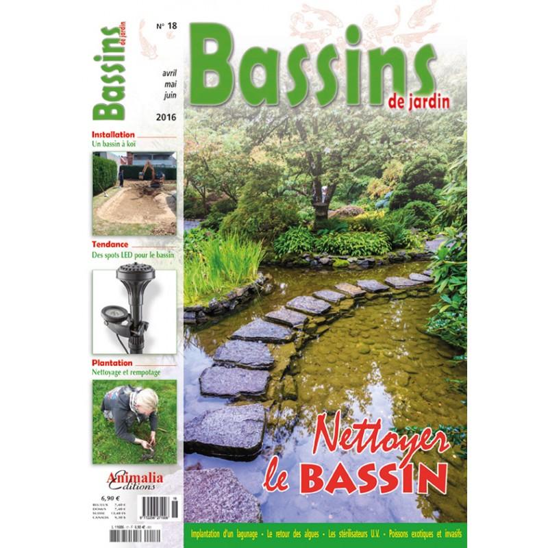 Bassins de jardin N°18 - Animalia Editions
