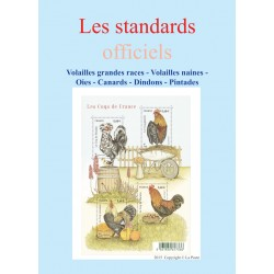 Standard officiels volailles - Oies - Cabards - Dindons - Pintades