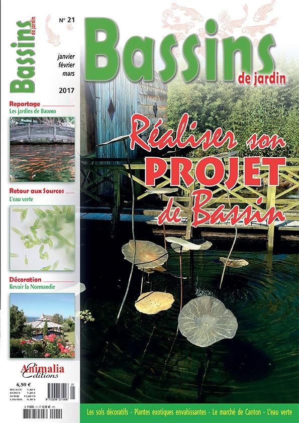 Bassins de jardin N°21 - Animalia Editions