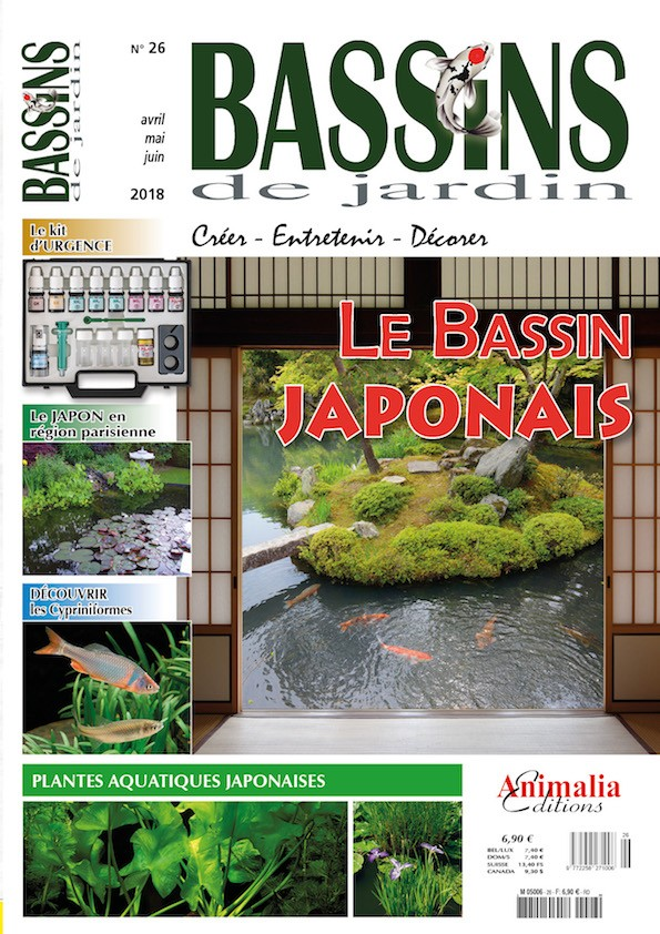 Bassins de jardin N°26 - Animalia Editions
