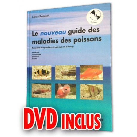 Nouveau guide des maladies des poissons + DVD Rom