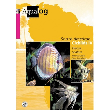 Aqualog South American Cichlides IV - Discus, Scalare