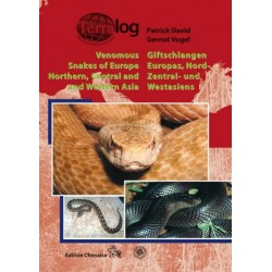 Terralog Venomous snakes of Europe Northen, Central and Western Asia
