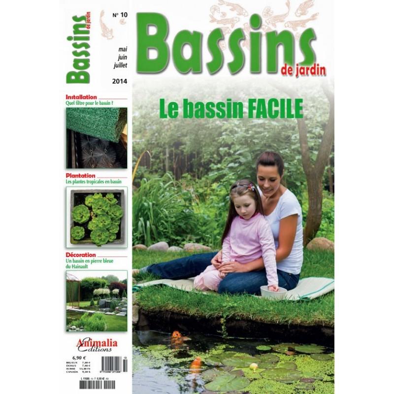 Bassins de jardin N°10 - Animalia Editions